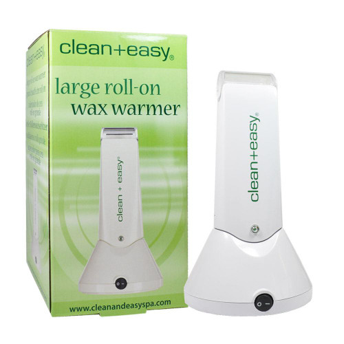 Clean+Easy Portable Waxer Rechargeable Roll-On Waxer