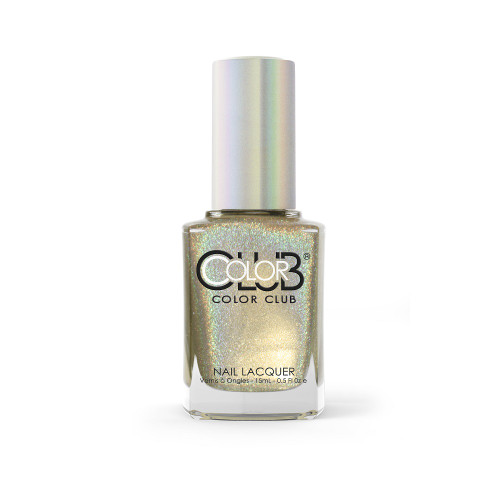 Color Club Halo Hues Holographic Nail Polish 1091 Star Light, Star Bright 0.5oz