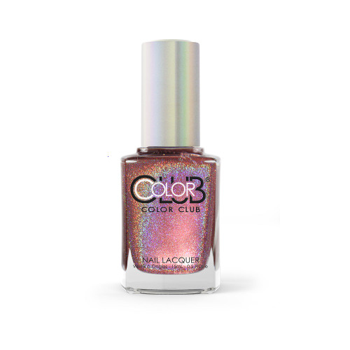 Color Club Halo Hues Holographic Nail Polish 1092 Sidewalk Psychic 0.5oz