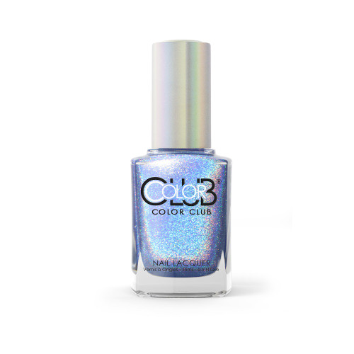 Color Club Halo Hues Holographic Nail Polish 1094 Crystal Baller 0.5oz