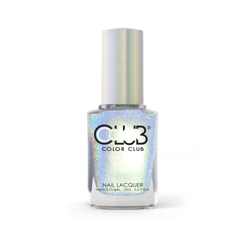 Color Club Halo Hues Holographic Nail Polish 1095 Just My Luck 0.5oz