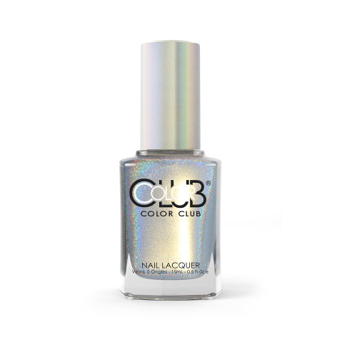 Color Club Halo Hues Holographic Nail Polish 1097 Fingers Crossed 0.5oz