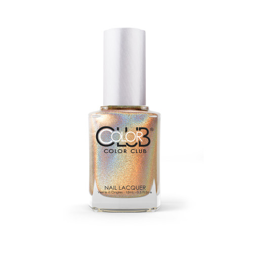 Color Club Halo Hues Holographic Nail Polish 980 Cherubic 0.5oz
