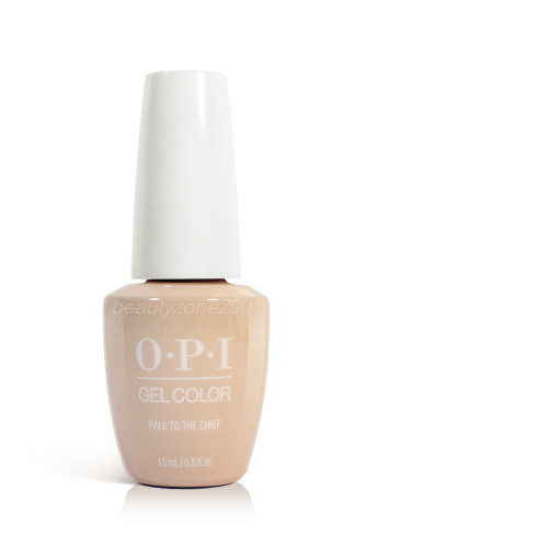 OPI Soak Off Gelcolor Polish GC W57 Pale To the Chief 0.5oz