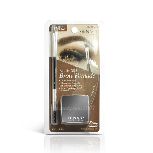 i•ENVY All-in-One Eyebrow Pomade PKBPM01