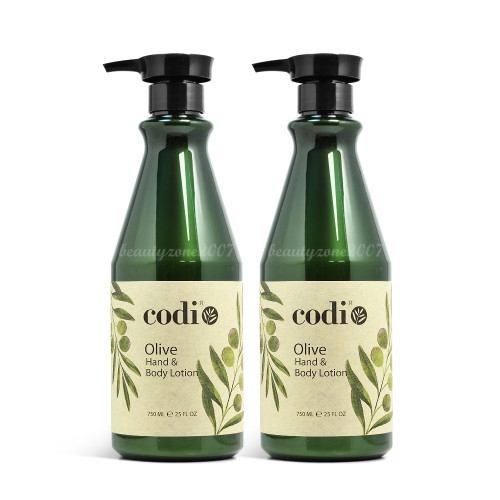 Codi Olive Oil Hand & Body Lotion 25oz (Pack of 2)
