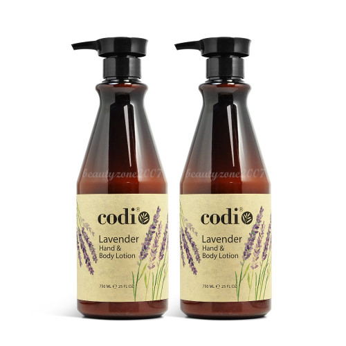 Codi Lavender Hand & Body Lotion 25oz (Pack of 2)