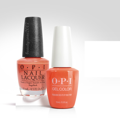 OPI Matching GelColor + Nail Polish - A67 Toucan Do It If You Try 0.5oz