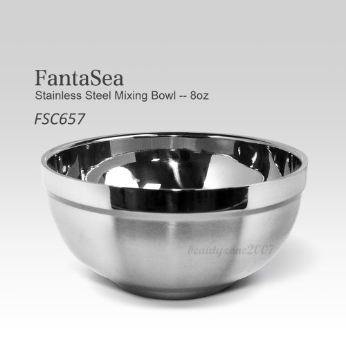 Fantasea FSC657 Small Deluxe Stainless Steel Mixing Bowl