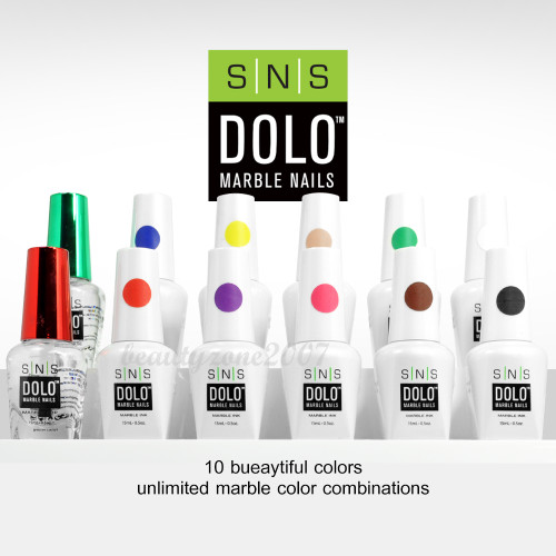 SNS Dolo Instant Marble Nails Kit