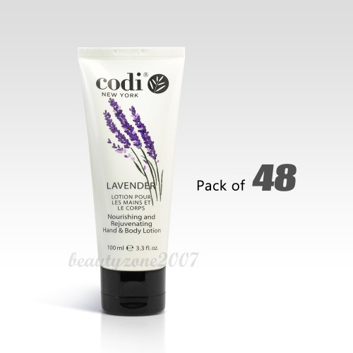 Codi Hand & Body Lotion - Lavender 100ml/ 3.3 oz (Pack of 48)