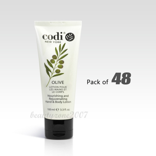 Codi Hand & Body Lotion - Olive 100ml/ 3.3 oz (Pack of 48)