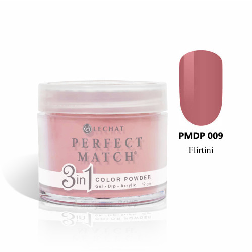 LeChat Perfect Match 3 in 1 Color Powder PMDP009 - Flirtini 1.5oz