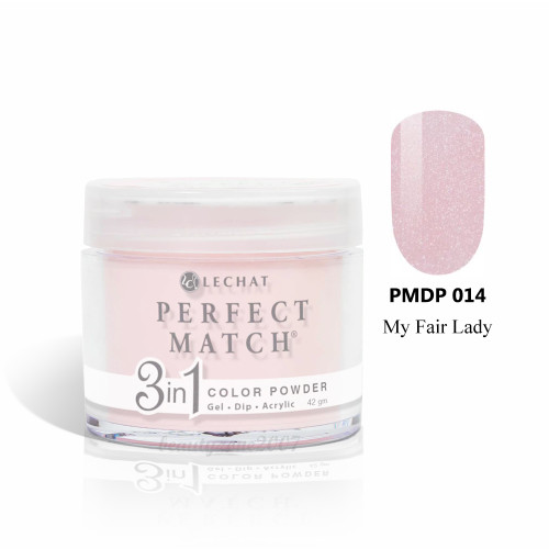 LeChat Perfect Match 3 in 1 Color Powder PMDP014 - My Fair Lady 1.5oz