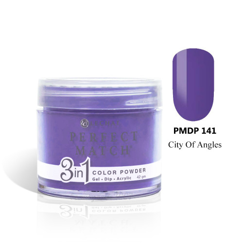 LeChat Perfect Match 3 in 1 Color Powder PMDP141 - City Of Angels 1.5oz
