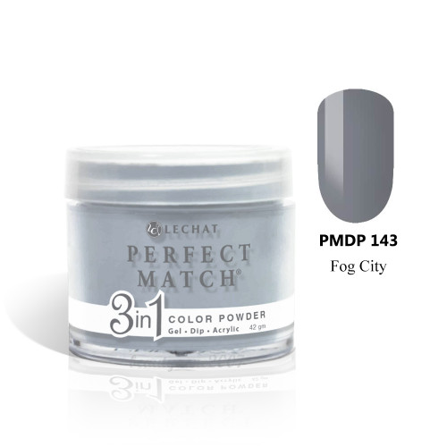 LeChat Perfect Match 3 in 1 Color Powder PMDP143 - Fog City 1.5oz