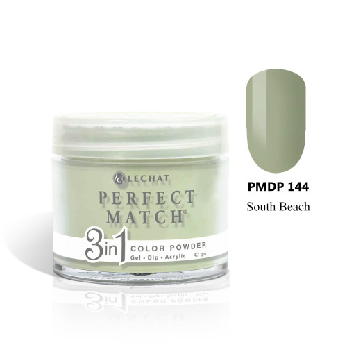 LeChat Perfect Match 3 in 1 Color Powder PMDP144 - South Beach 1.5oz