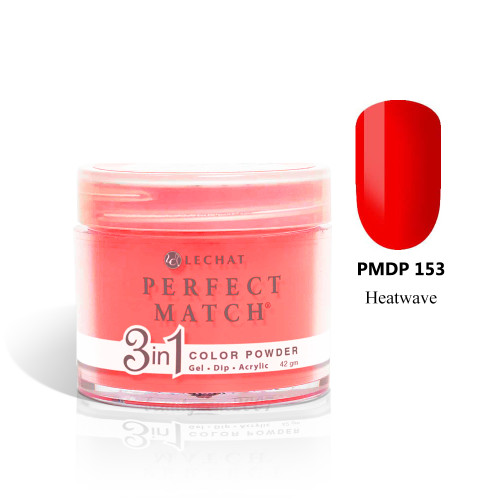 LeChat Perfect Match 3 in 1 Color Powder - PMDP153 Heatwave 1.5oz