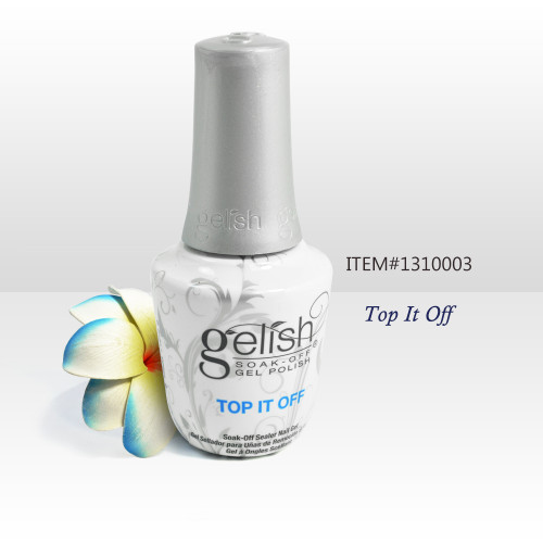 Nail Harmony Gelish UV/LED Top It Off Soak Off Gel Top Coat Sealer 0.5oz / 15ml