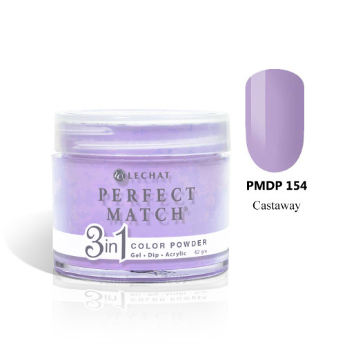 LeChat Perfect Match 3 in 1 Color Powder - PMDP154 Castaway 1.5oz