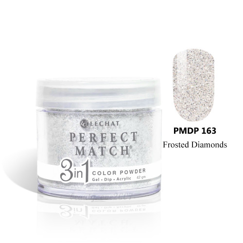 LeChat Perfect Match 3 in 1 Color Powder - PMDP163 Frosted Diamonds 1.5oz