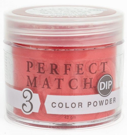 LeChat Perfect Match 3 in 1 Color Powder - PMDP189 Red Haute 1.5oz