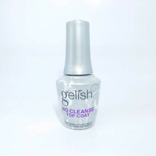 Harmony Gelish #1148008 No Cleanse Top Coat 0.5oz [File Off For Removal!]