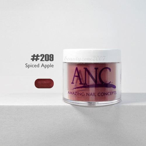 ANC Nail Color Dipping Powder #209 Spiced Apple 2oz