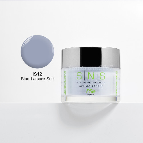 SNS Nail Dipping Powder IS12 - Blue Leisure Suit 1oz