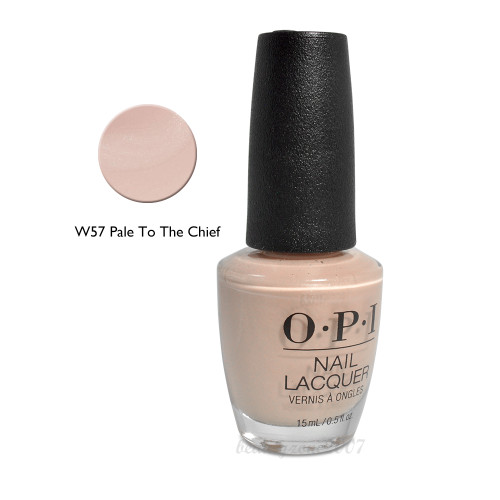 OPI Nail Polish W57 Pale To the Chief 0.5oz