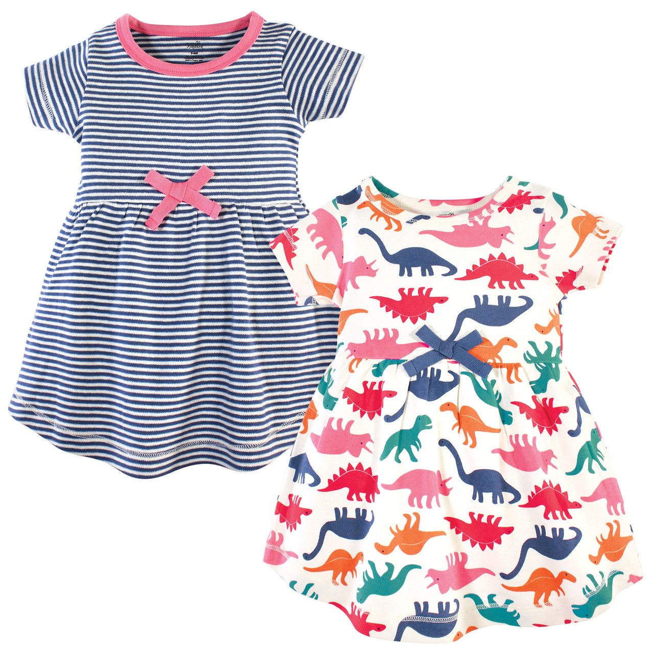 Touched by Nature Girls Organic Cotton Short-Sleeve Dresses