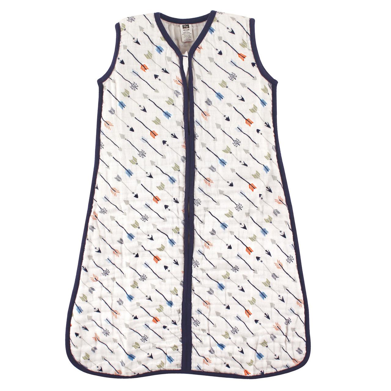 buy online 7dae5 e1f98 Muslin Wearable Safe Sleeping Bag Blanket, Boy Arrows
