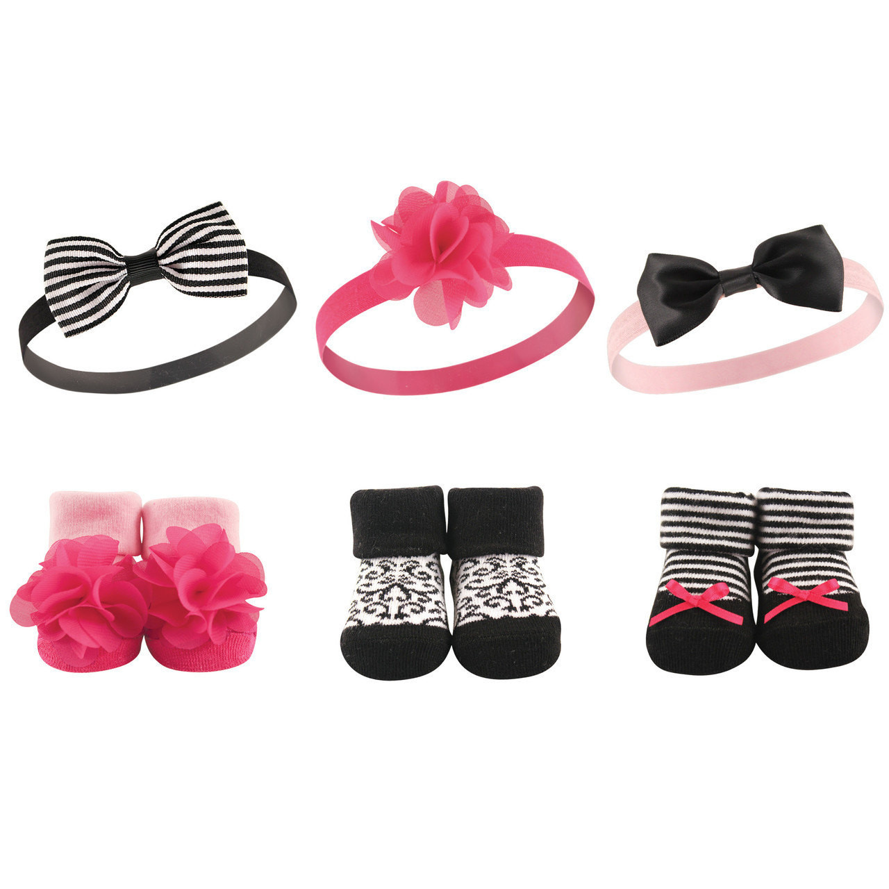 baby Shower Gift Baby Girl Accessories Baby Girl Socks and Headband set