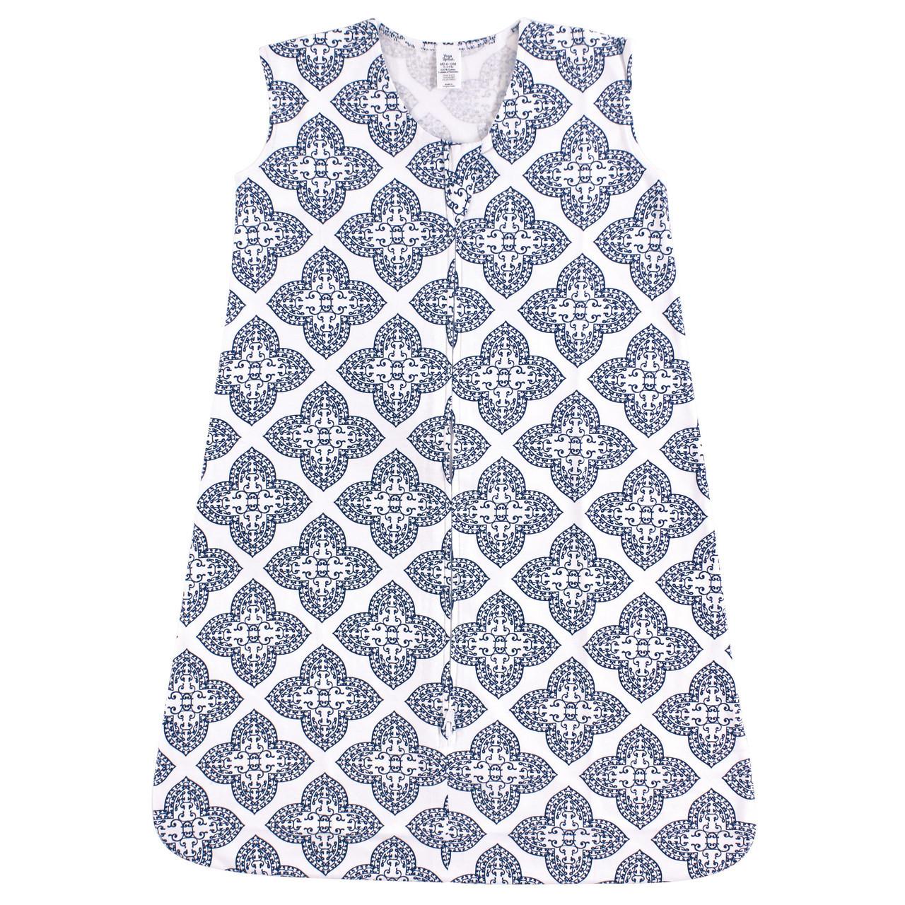 Baby Safe Sleep Wearable Jersey Sleeping Bag/Blanket, Ornate Clover