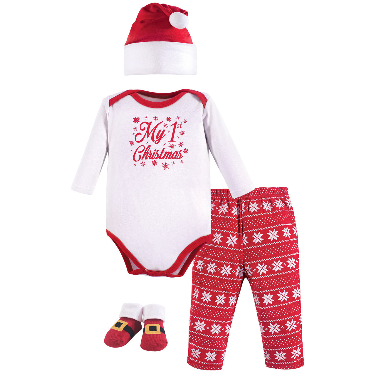 My First Christmas.Holiday Clothing Gift Set 4 Piece My First Christmas 0 6 Months