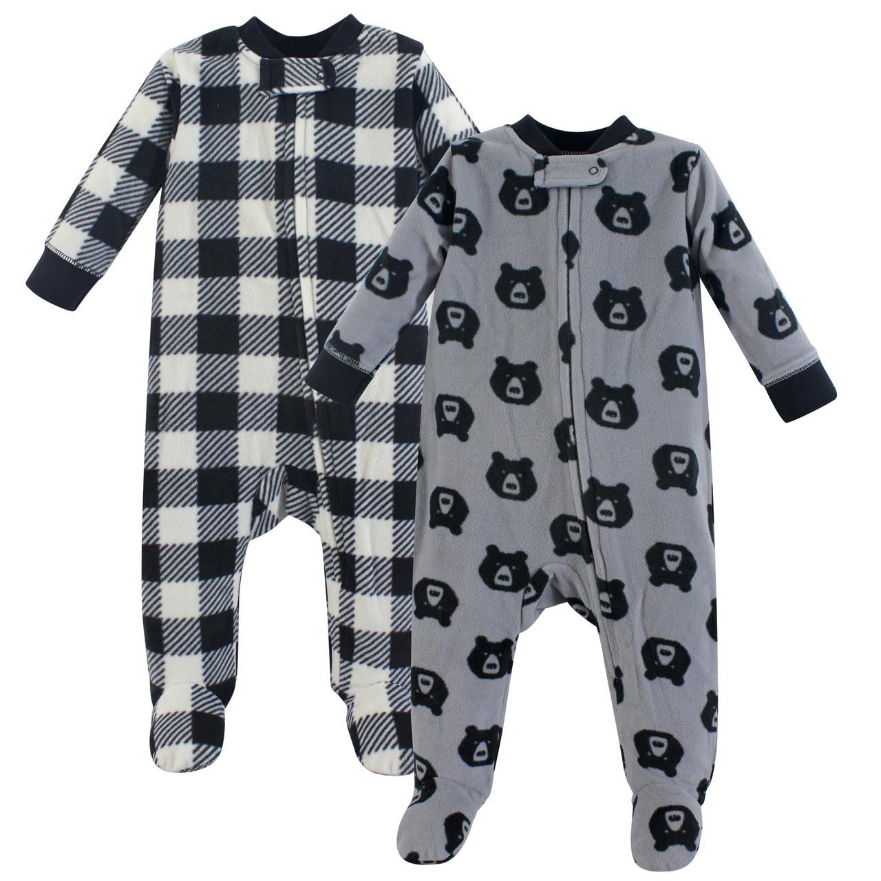 Essentials Baby 2-Pack Microfleece Sleep and Play