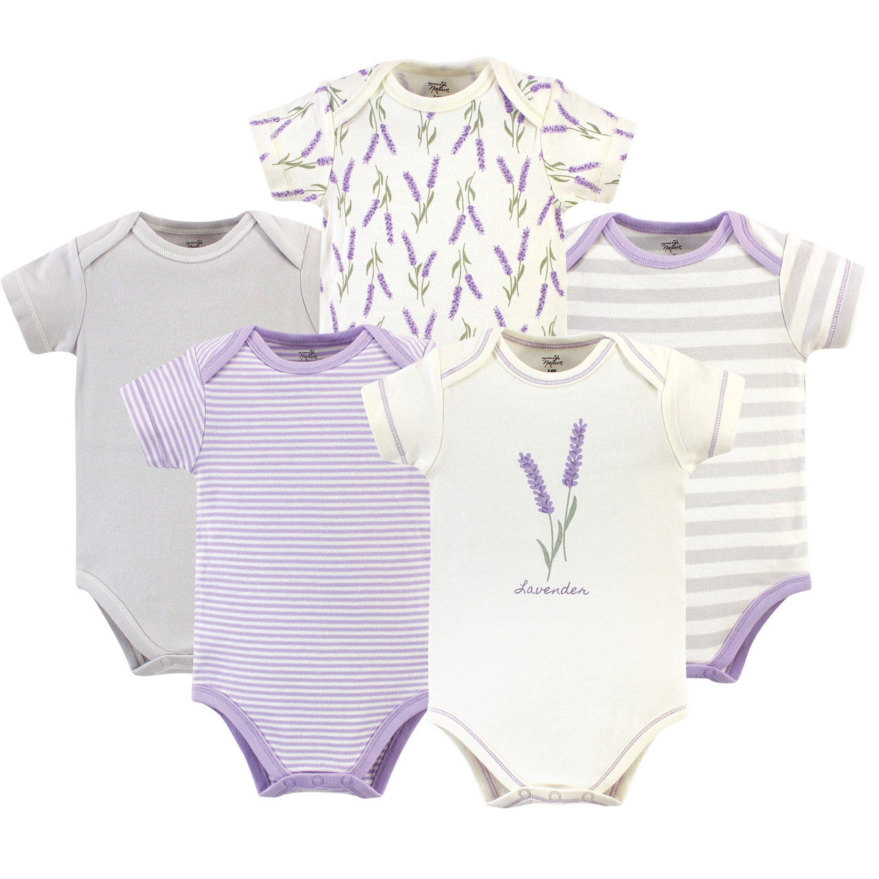 Touched by Nature Baby Girls Bodysuit
