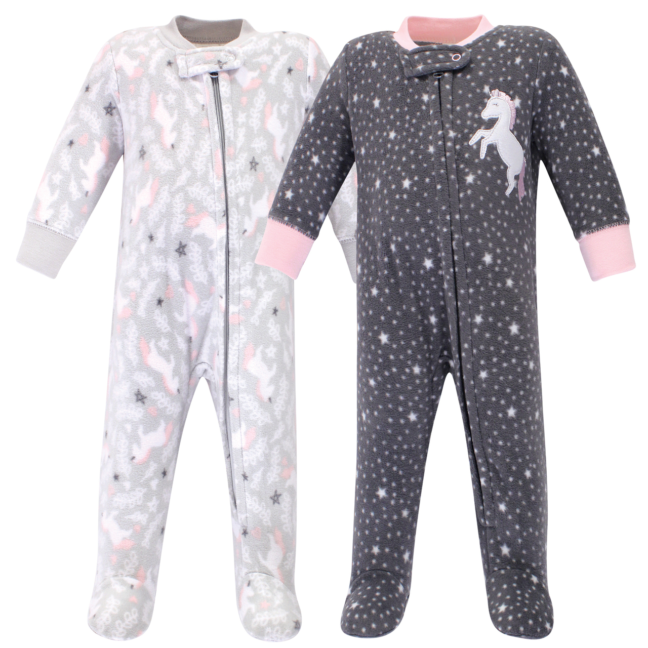 Essentials Baby Girls 2-Pack Sleep and Play