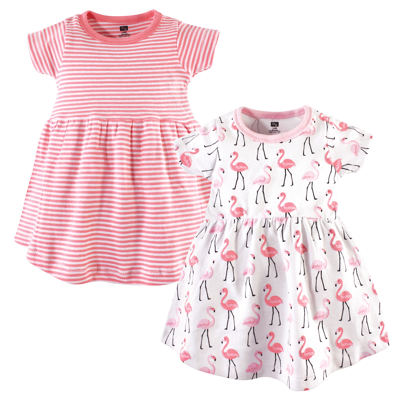 Hudson Baby Girls Cotton Dresses