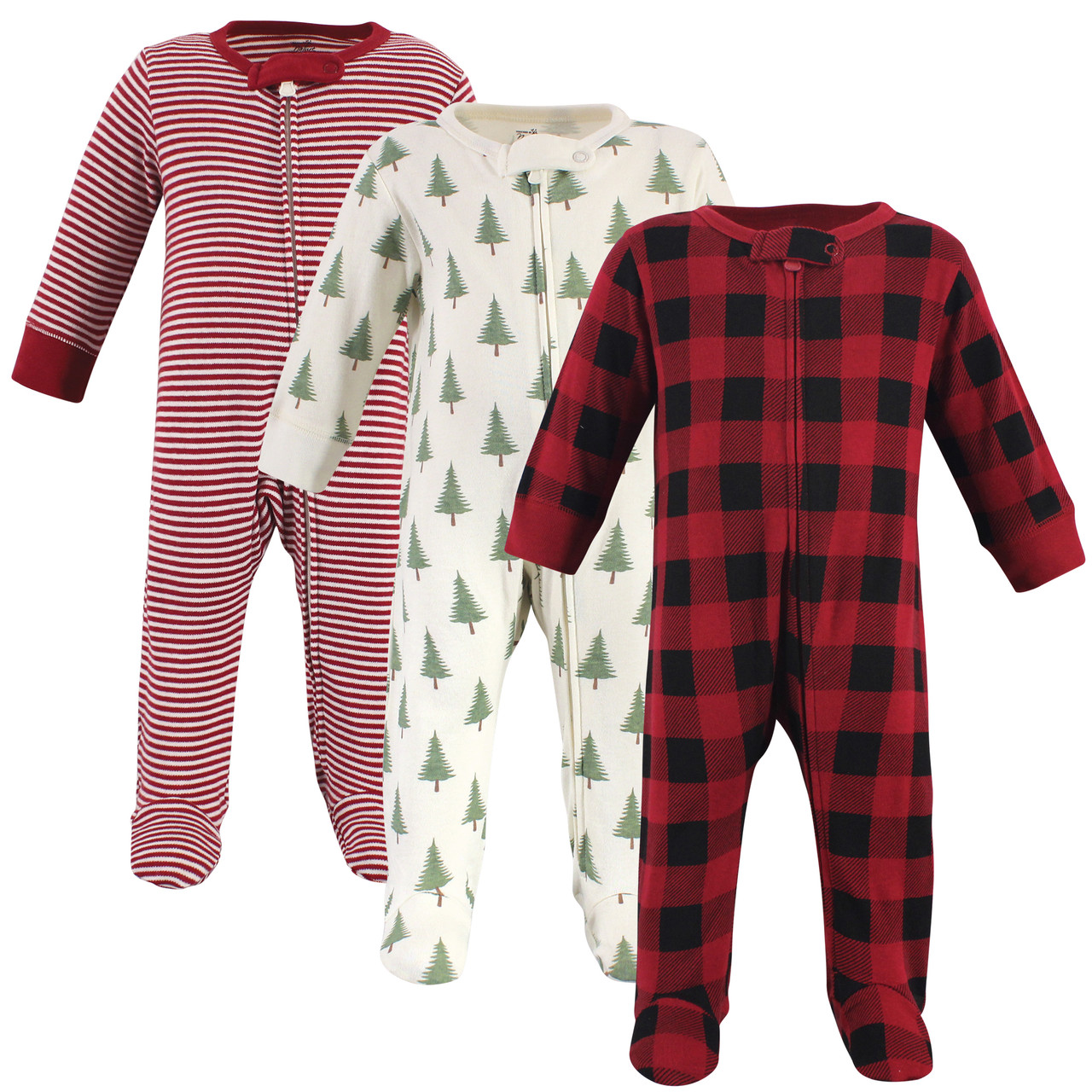 Touched by Nature Organic Cotton Sleep and Play 3-Pack Elephant