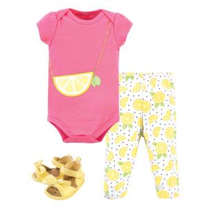 Little Treasure Unisex Baby Hoodie Bodysuit or Tee Top Leopard and Pant Set