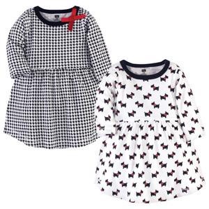 5 Toddler Hudson Baby Baby Girl Cotton Dresses Apple
