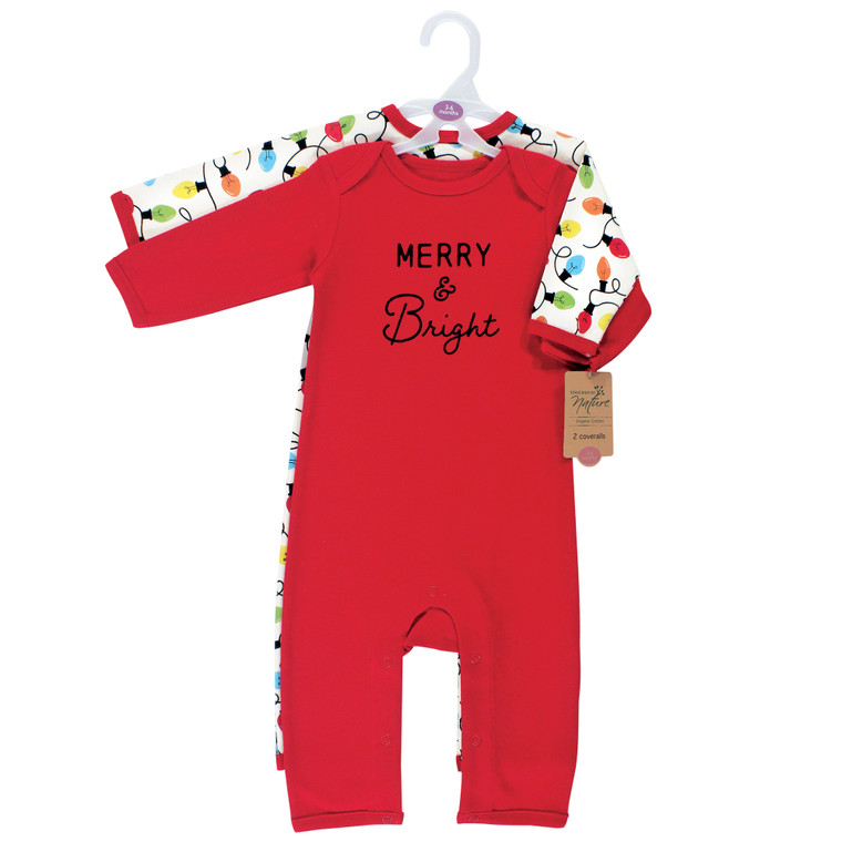 Touched by Nature Unisex Baby Holiday Pajamas