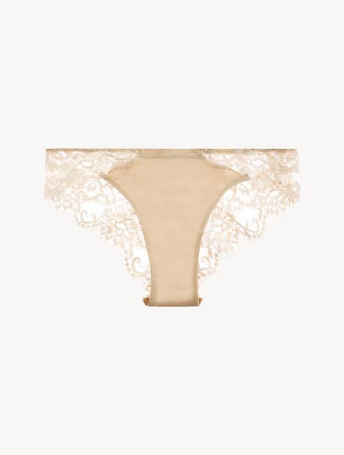 Nude cotton brazilian briefs