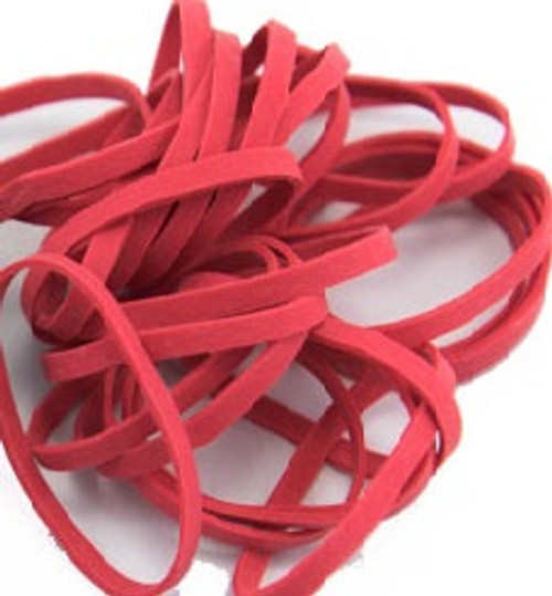 Premium Rubber Bands/ Thick Style -Red