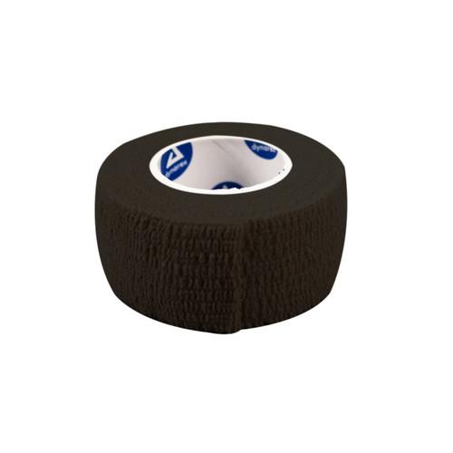 "Black Sensi-Wrap Cohesive Bandages 1""x5 yds. (contains latex)"