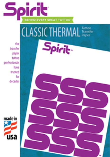 "Spirit Thermofax Paper  8 1/2"" x 11"""