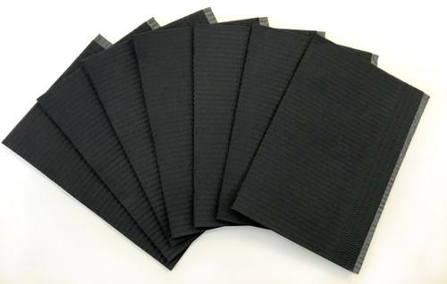 Black Lap Cloths