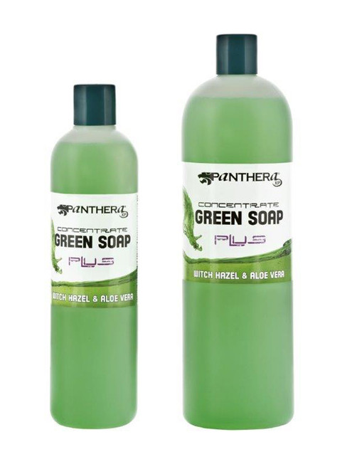 Panthera Green Soap Plus Concentrate with Witch Hazel + Aloe Vera