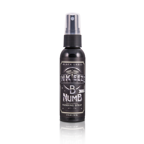 "INKEEZE - B NUMB NUMBING SPRAY ""BLACK LABEL"" - 2oz"